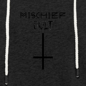 Mischief Cult | Upside Down Cross Design | Occult - Light Unisex Sweatshirt Hoodie