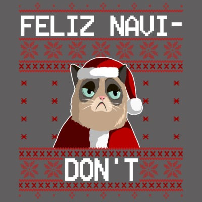 Feliz Navi Do not - laid de Noël Pull
