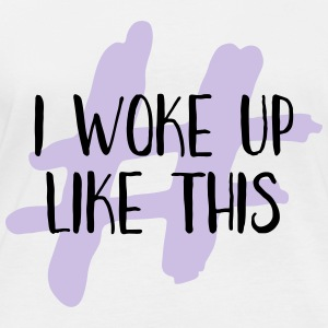 I woke up like this - Frauen Bio-Langarmshirt von Stanley & Stella