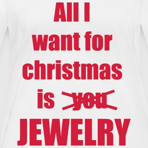 Christmas song saying Jewelry - Women's Organic Longsleeve Shirt by Stanley & Stella