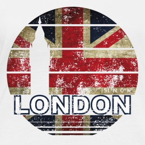 LONDRES LONDRES ANGLETERRE - T-shirt manches longues bio Femme