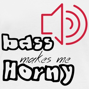 #bassmakesmehorny - T-shirt manches longues bio Femme