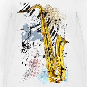 Magic Saxophone - Women's Organic Longsleeve