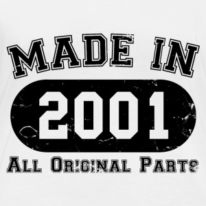 Made in 2001 All Original Parts 16th Birthday - Women's Organic Longsleeve