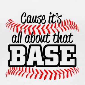 Baseball - its all about that base - Frauen Bio-Langarmshirt von Stanley & Stella