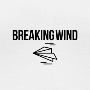 Breaking wind - Frauen Bio-Langarmshirt