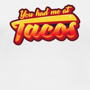 You had me at tacos - Frauen Bio-Langarmshirt von Stanley & Stella