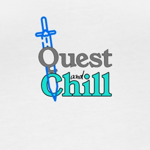 Quest and Chill - Maglietta ecologica a manica lunga, da donna