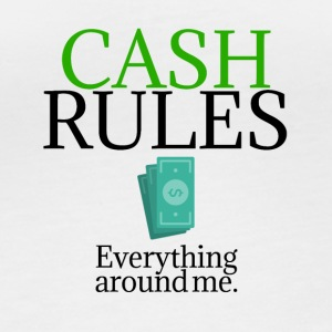 Cash rules - Women's Organic Longsleeve