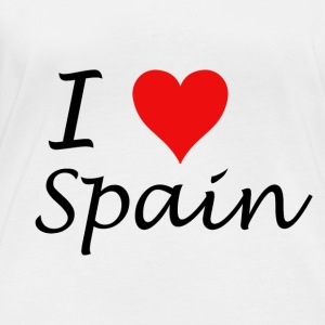 I Love Spain - Women's Organic Longsleeve Shirt by Stanley & Stella