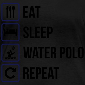 Eat Sleep Water Polo Repeat - Women's Organic Longsleeve