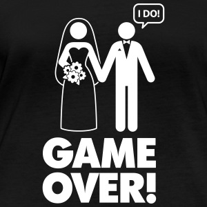 Game Over! I Am Married. - Women's Organic Longsleeve