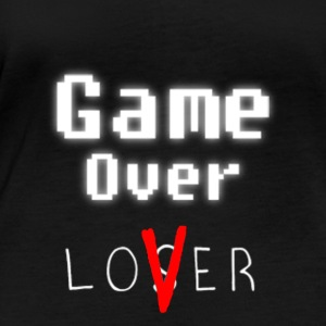 Game over lover w - T-shirt manches longues bio Stanley & Stella Femme