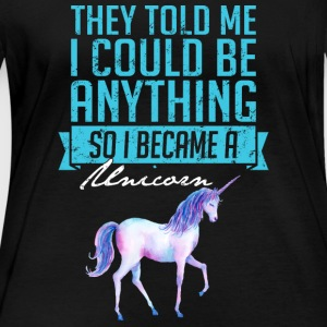 Became A Unicorn - Women's Organic Longsleeve