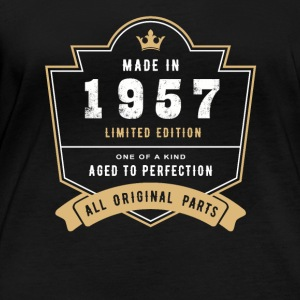 Made In 1957 Limited Edition All Original Parts - Women's Organic Longsleeve Shirt by Stanley & Stella