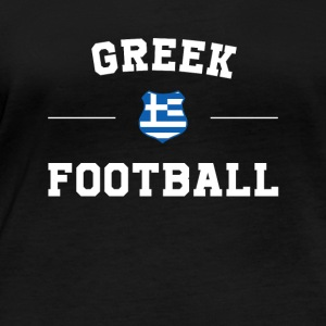 Greece Football Shirt - Greece Soccer Jersey - Women's Organic Longsleeve Shirt by Stanley & Stella