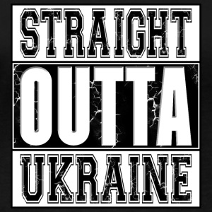 Straight Outta Ukraine 002 dessins ronds - T-shirt manches longues bio Stanley & Stella Femme
