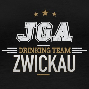 Bachelor Party JGA Zwickau Drinking Team - Women's Organic Longsleeve