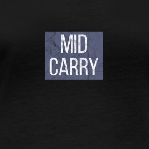 LOL MID CARRY Supporeter skjorte for LEAGUE - Langarmet øko-T-skjorte for kvinner