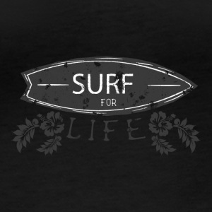 Surf for life - Women's Organic Longsleeve