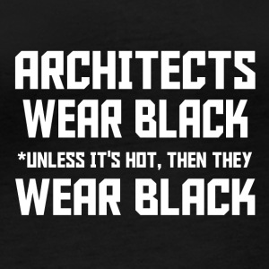 architect wear black - Frauen Bio-Langarmshirt von Stanley & Stella