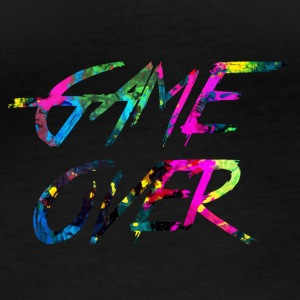 rainbow Game over - T-shirt manches longues bio Stanley & Stella Femme