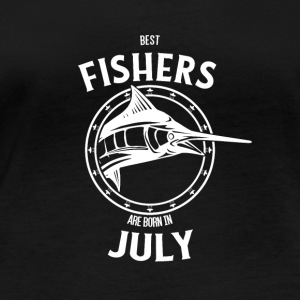 Present for fishers born in July - Women's Organic Longsleeve