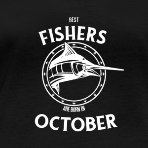 Present for fishers born in October - Women's Organic Longsleeve