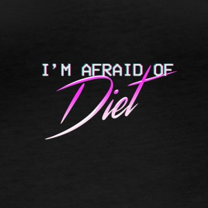 Afraid Of Diet - Women's Organic Longsleeve