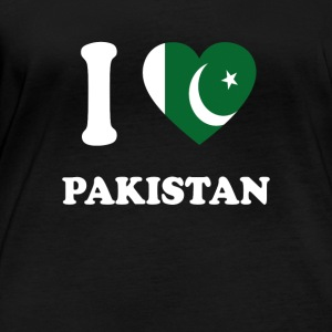 i love home gift country PAKISTAN - Women's Organic Longsleeve Shirt by Stanley & Stella