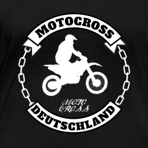 Motocross Germany - Women's Organic Longsleeve Shirt by Stanley & Stella