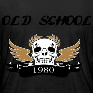old school1980 - Frauen Bio-Langarmshirt