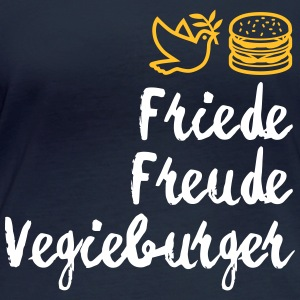 Peace, Joy, Vegieburger! - Women's Organic Longsleeve