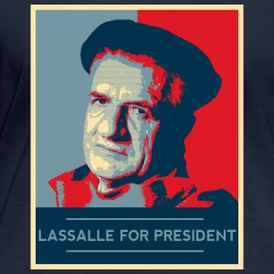 Lassalle-Obama For President - T-shirt manches longues bio Stanley & Stella Femme
