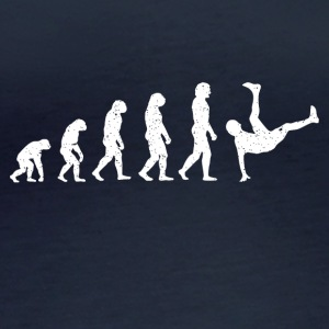 Evolution breakdance dans hiphop Hatrik DESIGN - Vrouwen biologisch shirt met lange mouwen