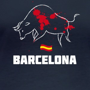 Bullfighting Torero blood Barcelona Spain holiday tr - Women's Organic Longsleeve Shirt by Stanley & Stella