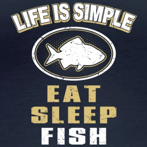 Eat Sleep Fish - Women's Organic Longsleeve