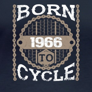 Born to cycle maltainbike bicycle 1966 - Women's Organic Longsleeve