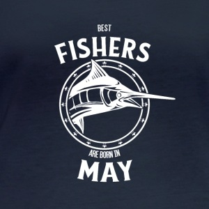 Present for fishers born in May - Women's Organic Longsleeve