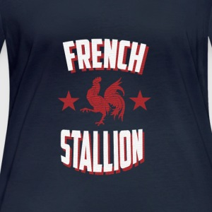 French Stallion - T-shirt manches longues bio Femme