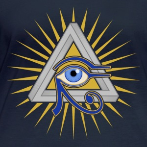Eye and Triangle - Women's Organic Longsleeve