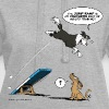 Border collie Agility / fast dog troubles - Hoodie Dress