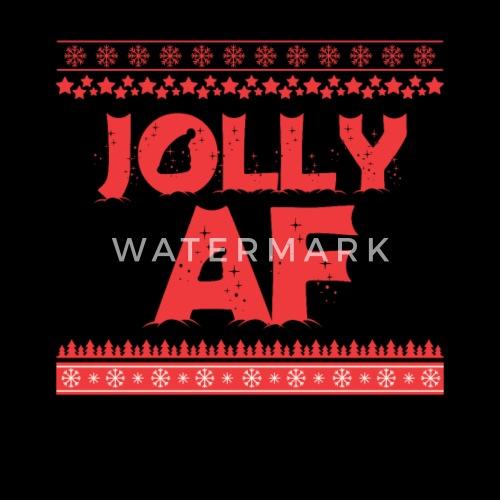 Weihnachten Fröhlich Jolly AF Xmas Geschenk von Masta Tee | Spreadshirt