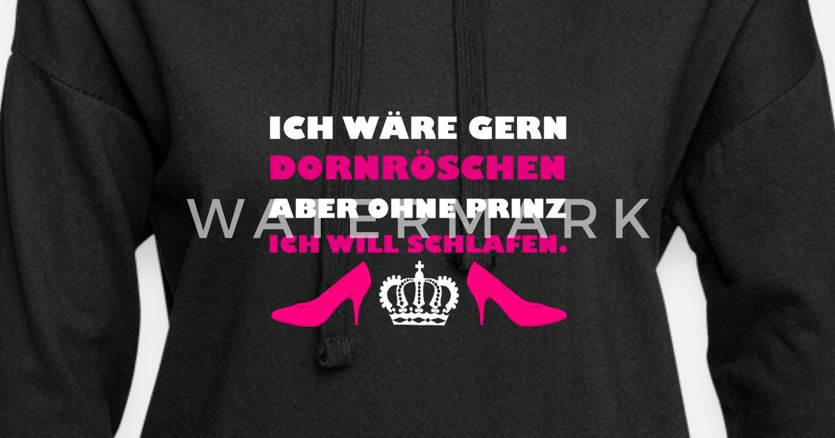 Dornröschen Schlafen Frauen Hoodiekleid Spreadshirt