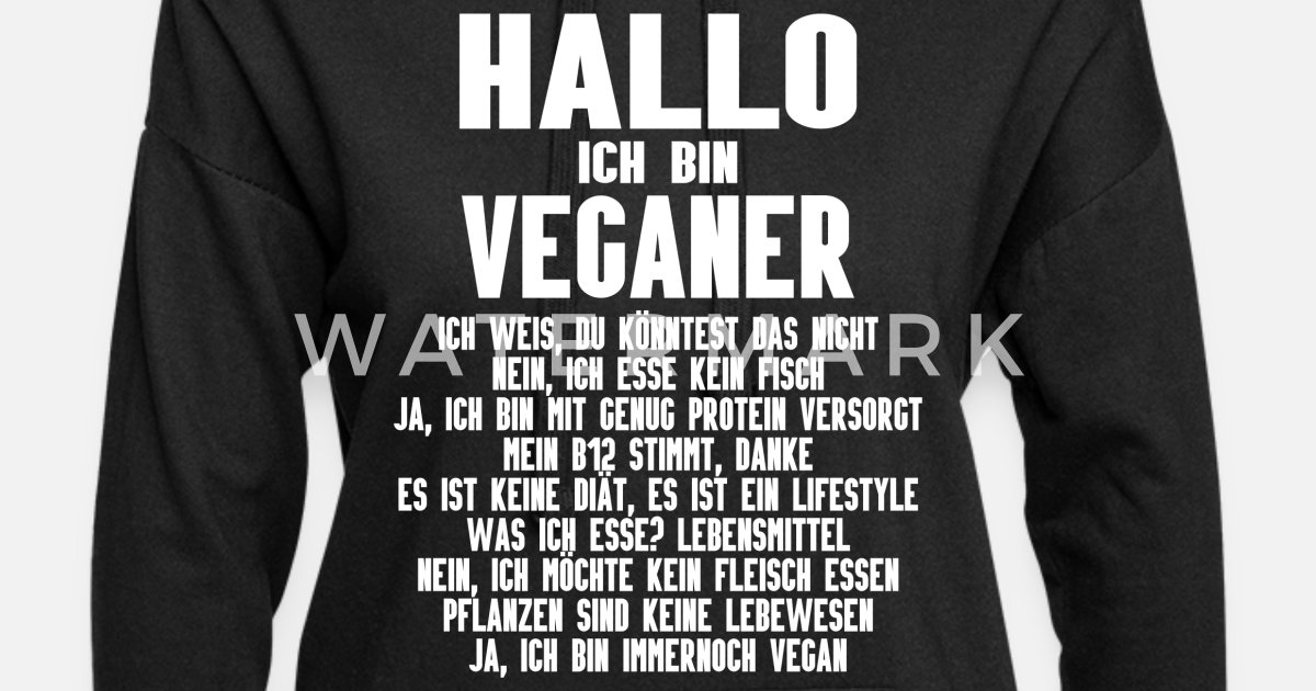 Vegan Veganer Veganerin Lustige Spruche Frauen Hoodiekleid Spreadshirt