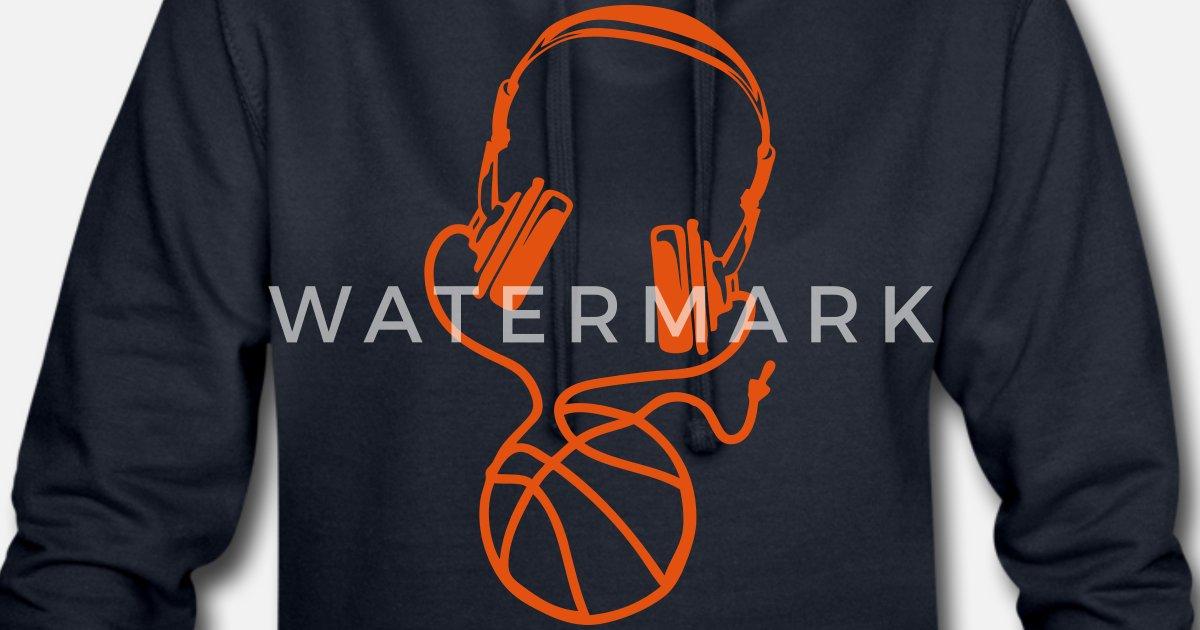 Basketball Casque Robe FemmeSpreadshirt Ballon Sweat Audio Fil Lj4A3R5
