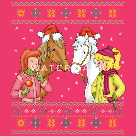 bibi und tina mit amadeus und sabrina weihnachten frauen