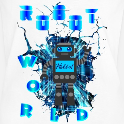 ROBOT WORLD - Women's Vintage T-Shirt