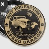 hot rod vintage - Badge grand 56 mm