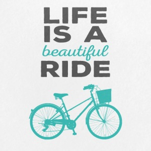 Bicycle: Life is a beautiful ride - Buttons large 56 mm